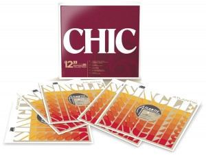 "Chic / The 12"" Singles Collection vinyl box set"