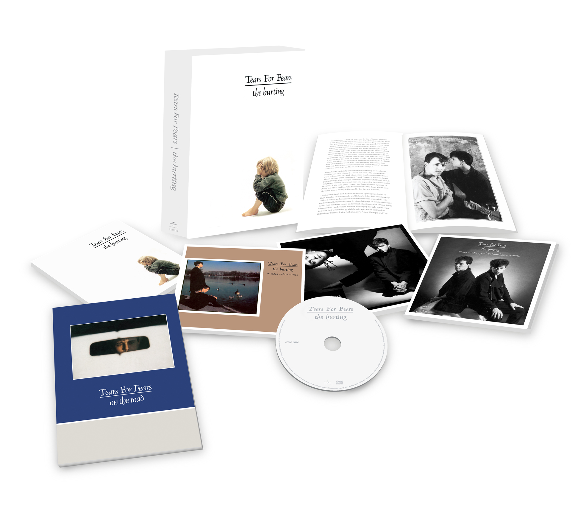 Tears For Fears / The Hurting four-disc box set