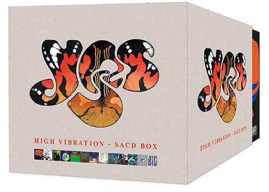 Yes / High Vibration 16 SACD box set from Warner Music Japan