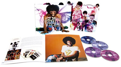 Higher! Sly and the Family Stone 4-disc box set
