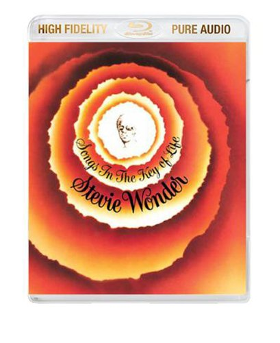 Stevie Wonder / Songs In The Key Of Life blu-ray audio