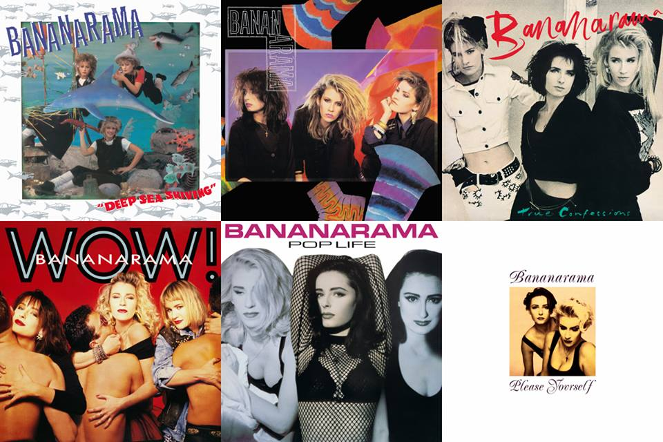 Banarama / 2CD+DVD reissues full track listing