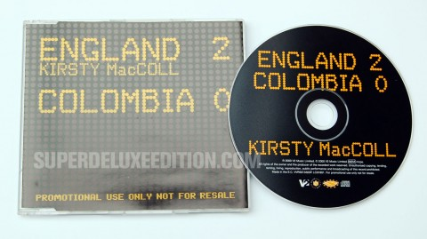Second Hand News / August 2013: Kirsty MacColl England 2 Colombia 0