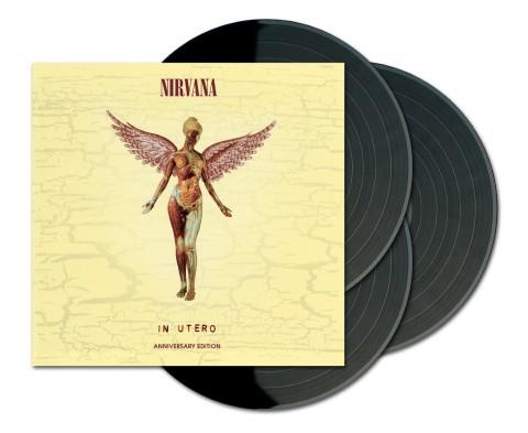 Nirvana / In Utero reissue 3LP Vinyl