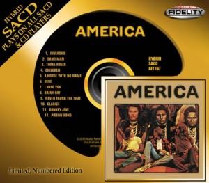 America / Eponymous debut album on hybrid SACD