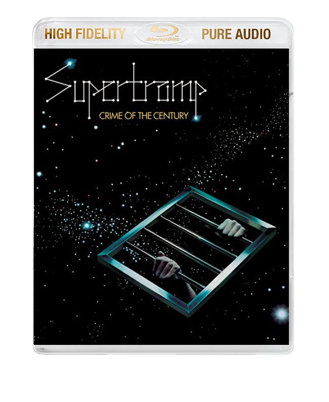 "Supertramp / ""Crime Of The Century"" High Fidelity Pure Audio Blu-ray audio"