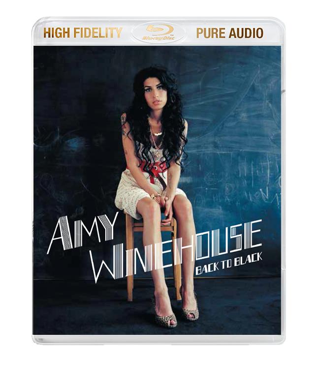 "Amy Winehouse / ""Back To Black"" High Fidelity Pure Audio Blu-ray audio"