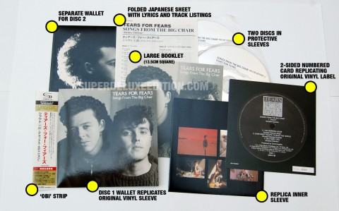 Japanese CD of the Day / Tears For Fears: Songs From The Big Chair