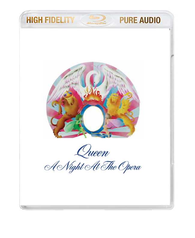 Queen / A Night At The Opera High Fidelity Pure Audio Blu-ray audio