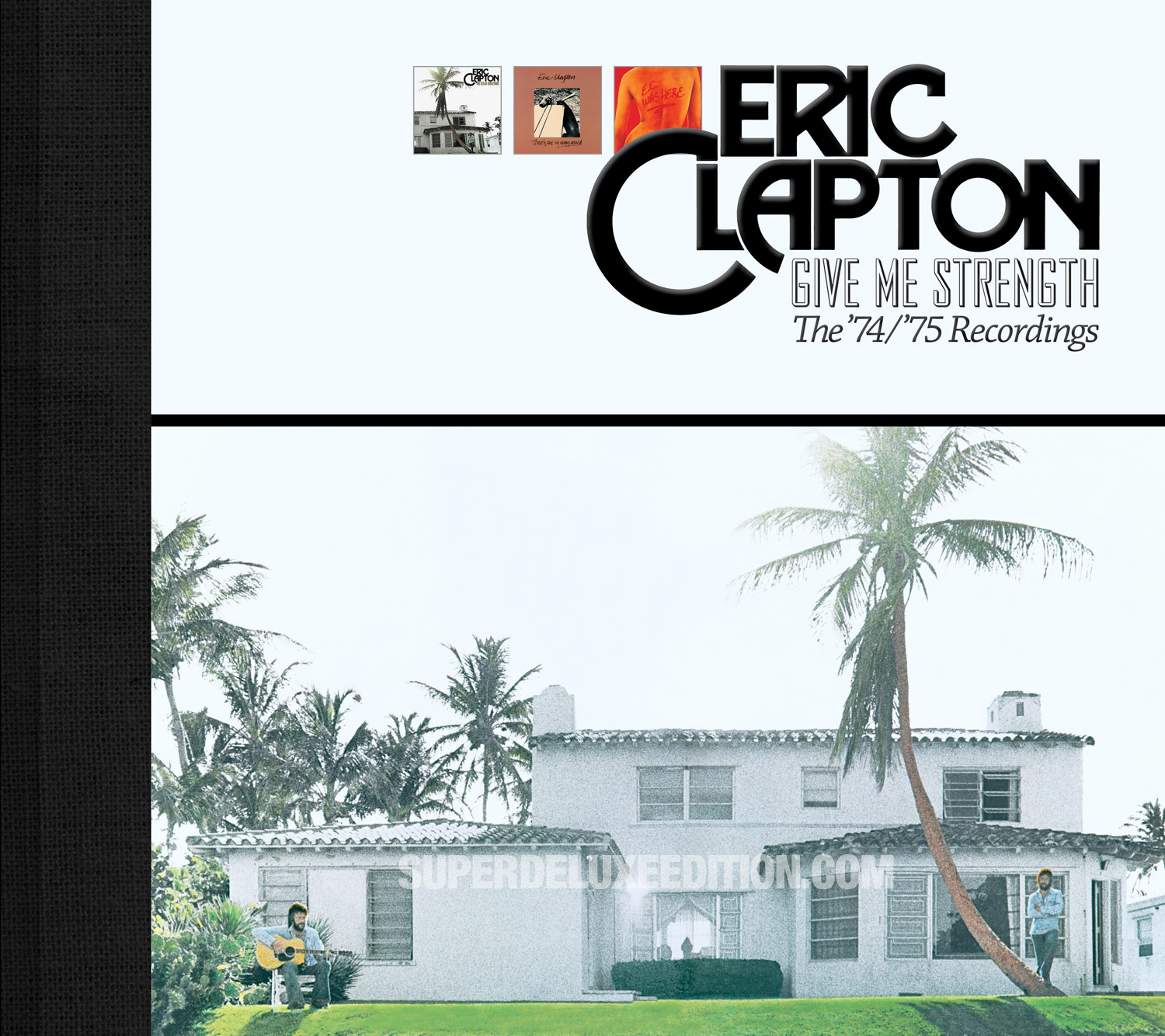 Eric Clapton / Give Me Strength: The 1974 / 1975 Recordings box set 5CD + Blu-ray Audio