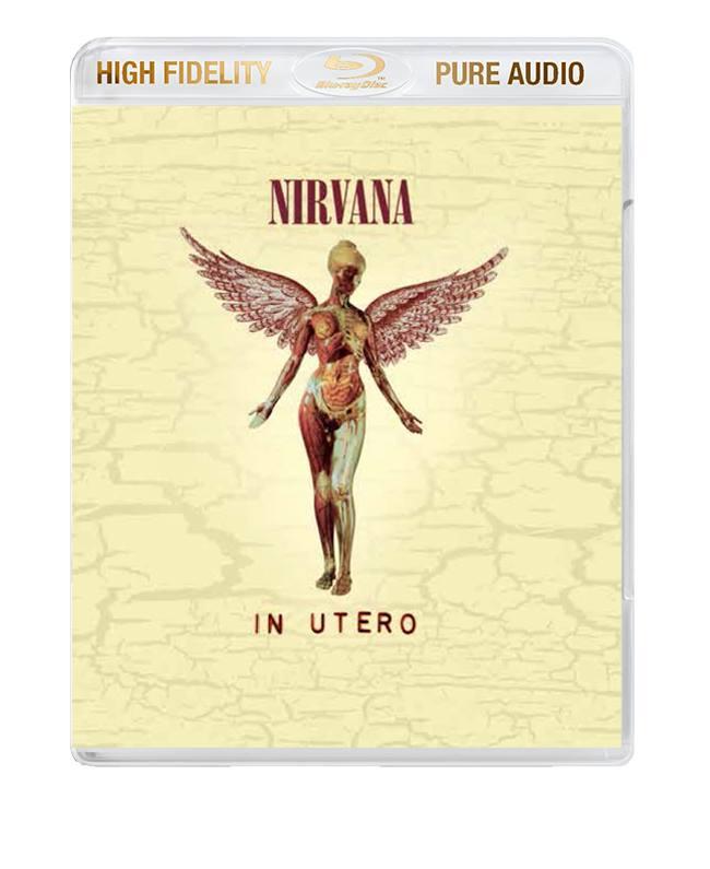 "Nirvana / ""In Utero"" High Fidelity Pure Audio Blu-ray audio"