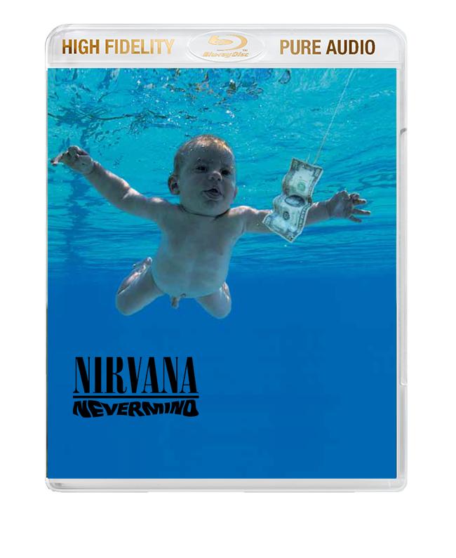 "Nirvana / ""Nevermind"" High Fidelity Pure Audio Blu-ray audio"