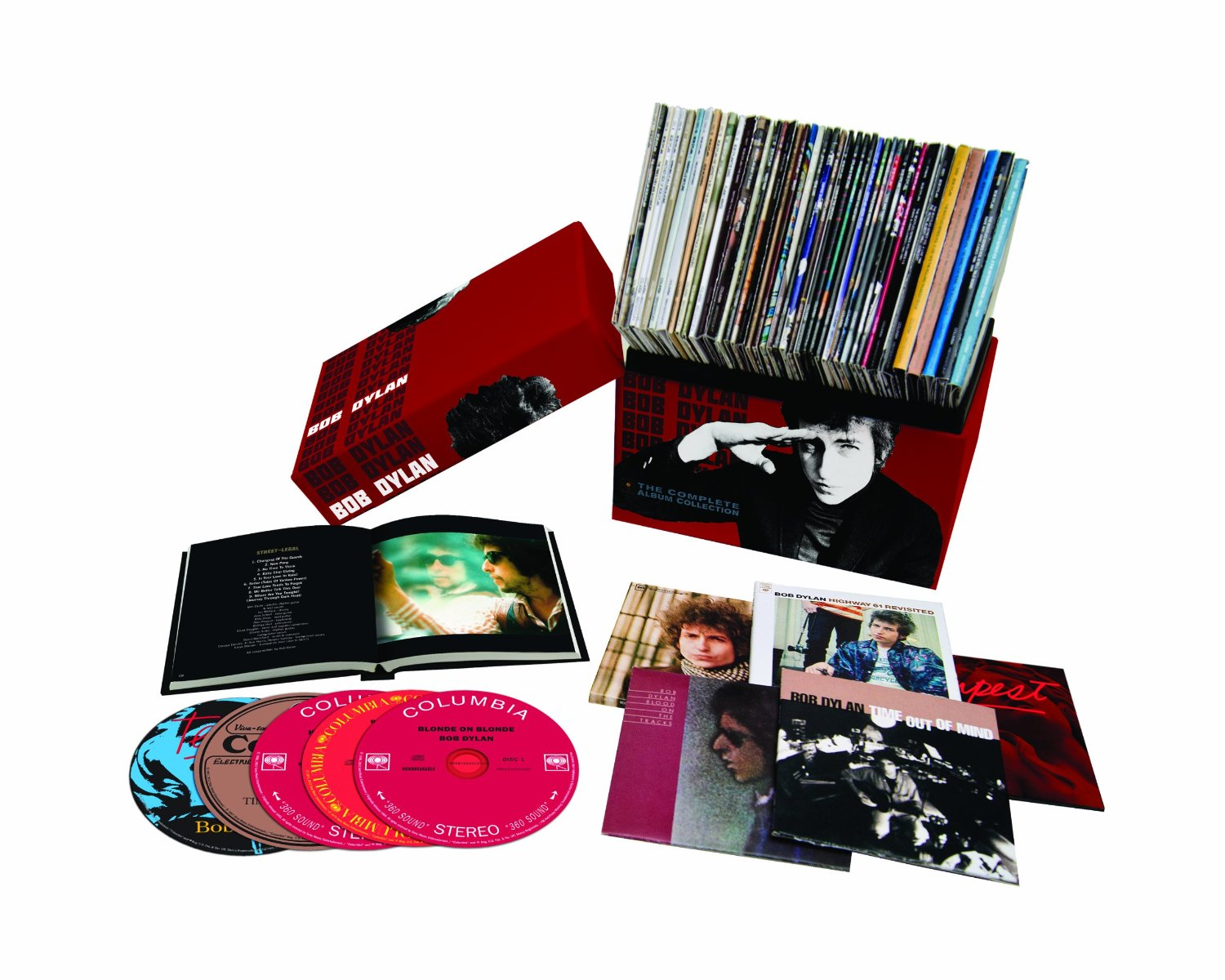 Bob Dylan / The Complete Album Collection: 47 CD box set