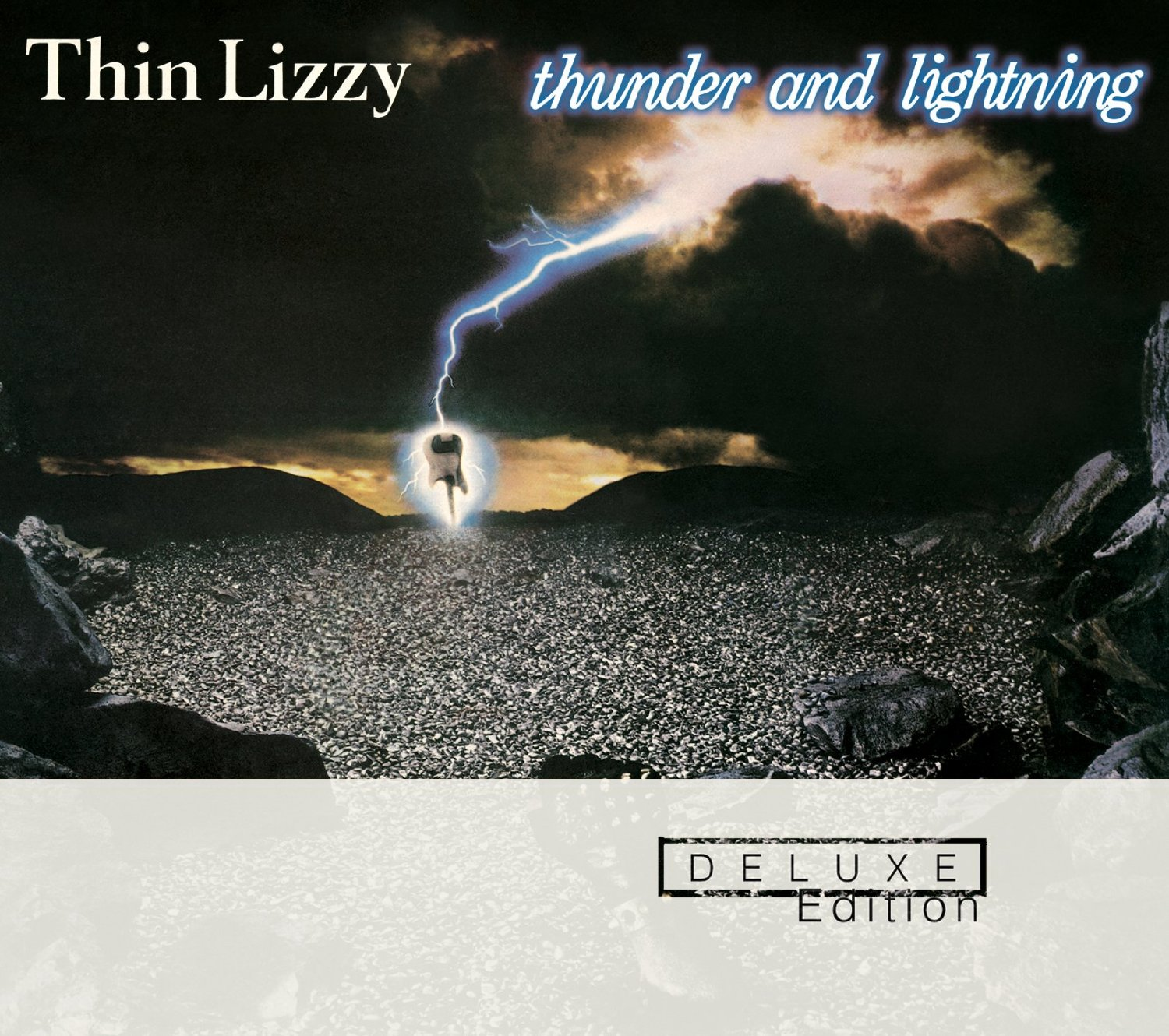 Thin Lizzy / Thunder and Lightning 2CD Deluxe Reissue