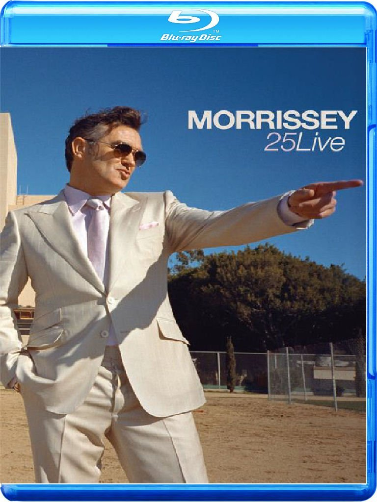 Morrissey / 25 Live Blu-ray