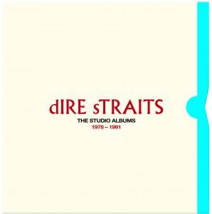 Dire Straits / Studio Albums 1978-1991 vinyl box set artwork