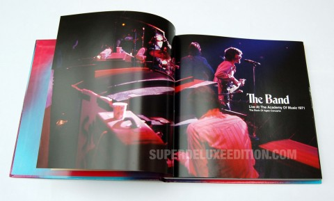 FIRST PICTURES: The Band / Live at the Academy of Music 5-disc box set