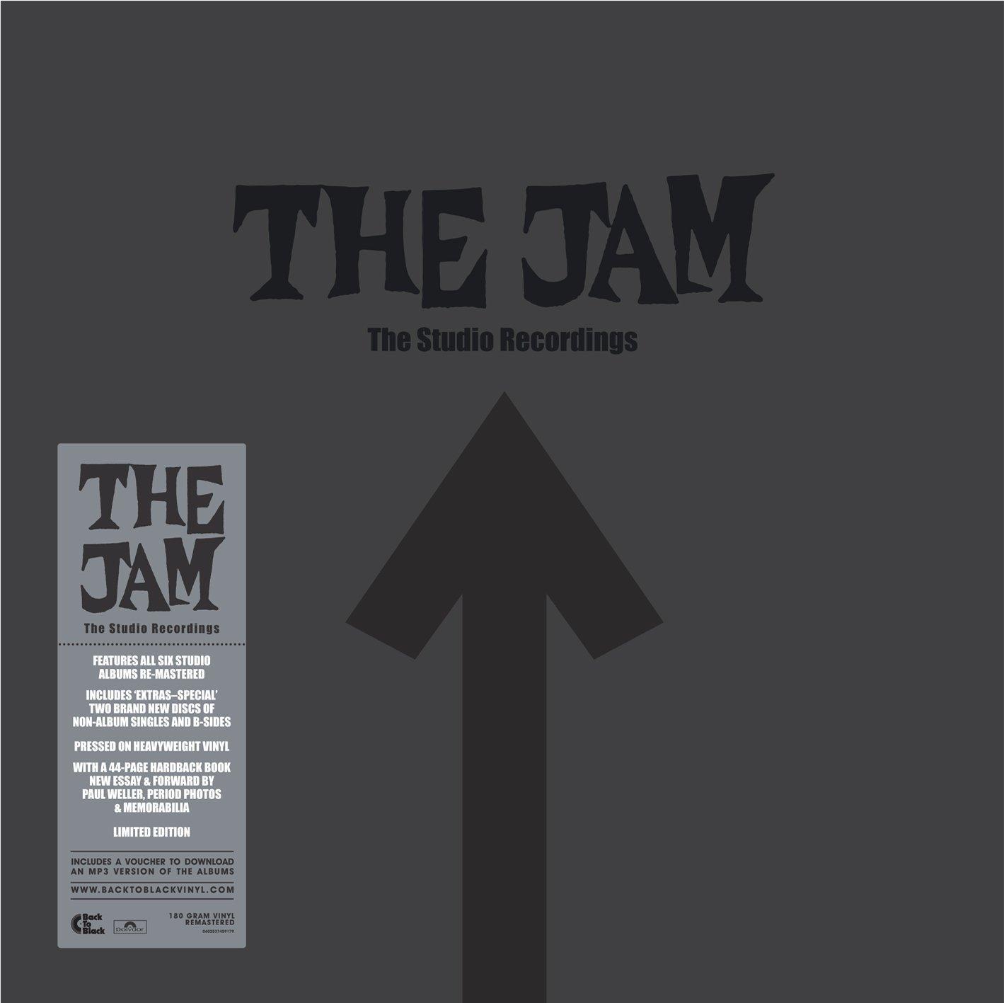 The Jam / The Studio Recordings: 8LP career-spanning vinyl box