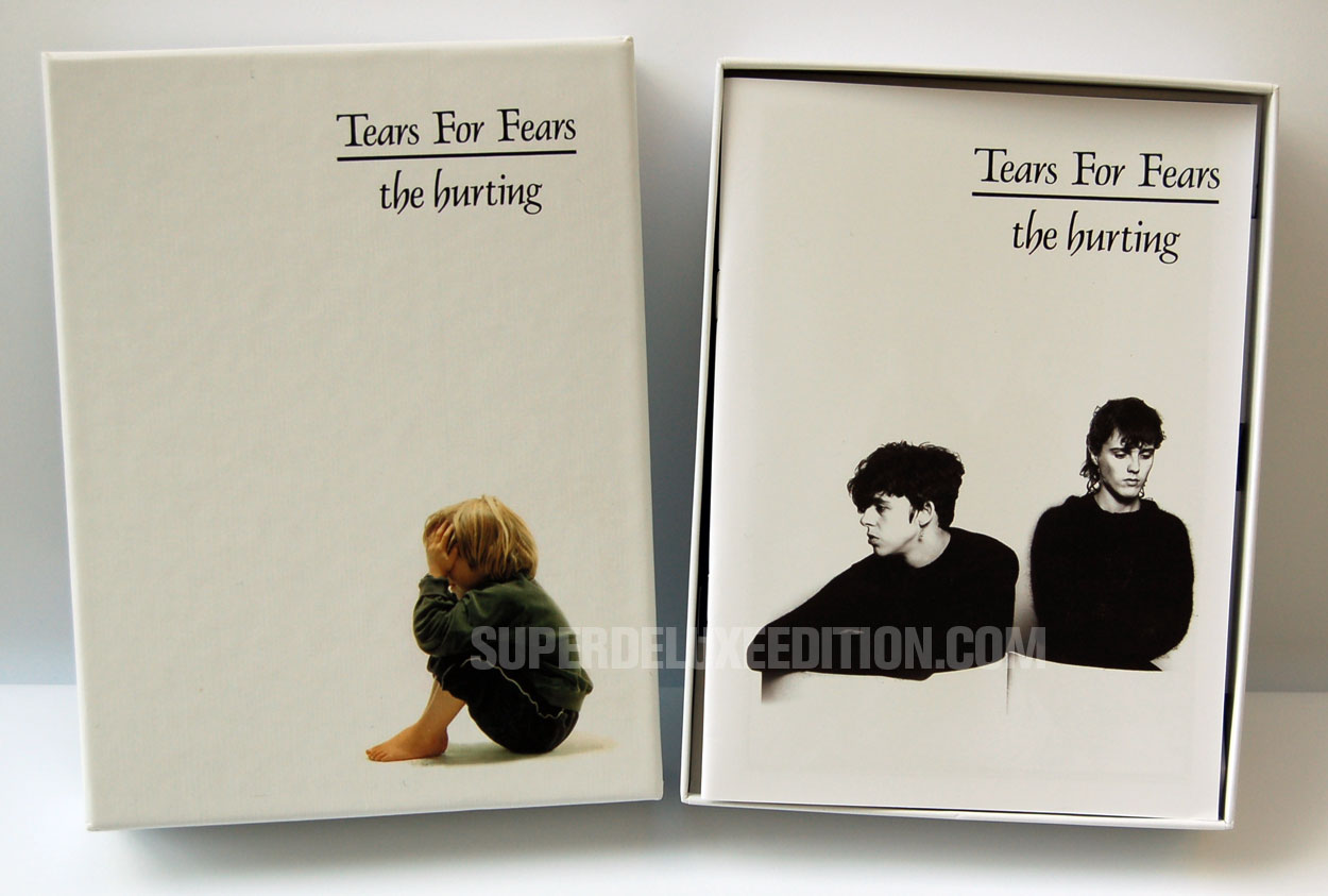 "FIRST PICTURES: Tears For Fears / ""The Hurting"" 4-disc box set"