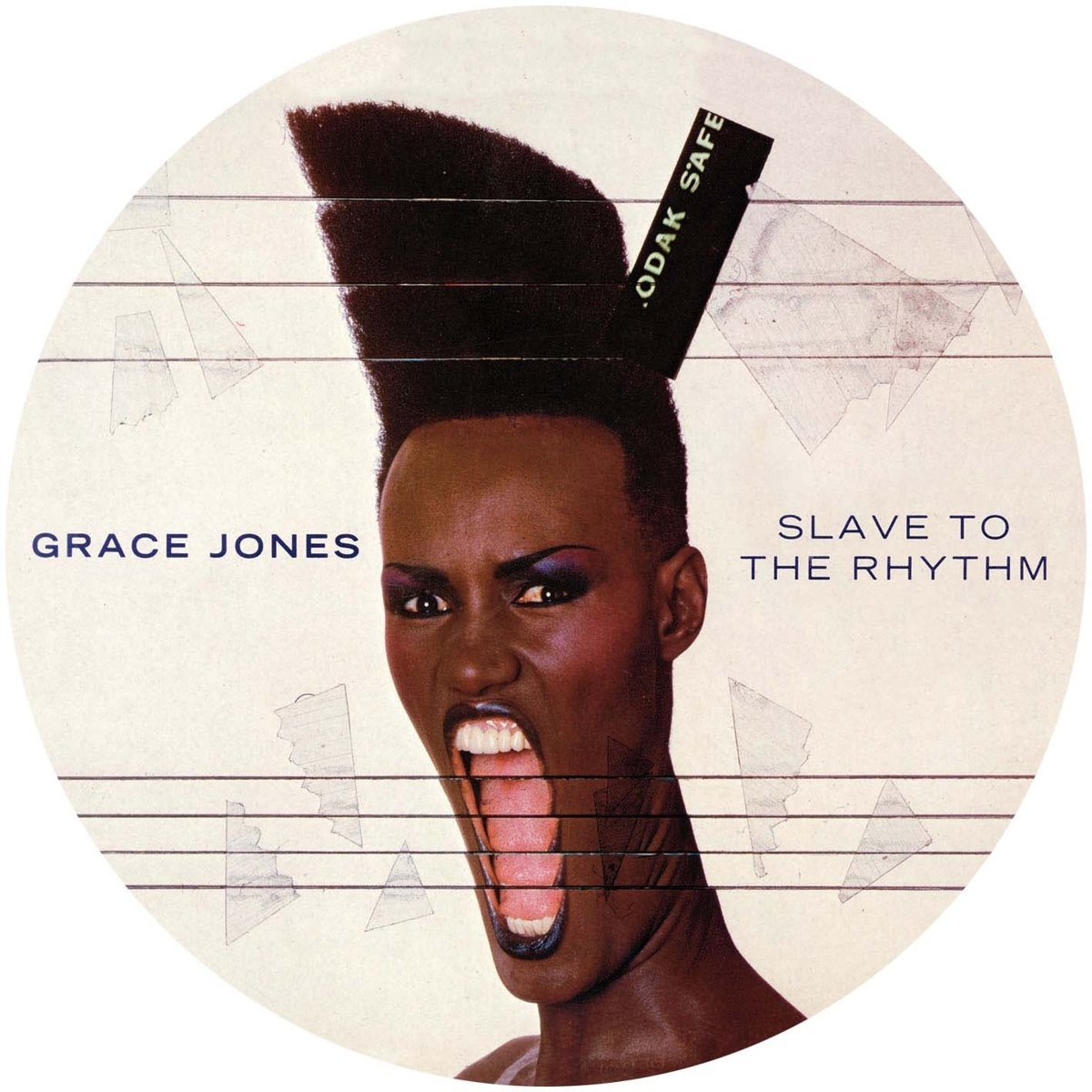 "Grace Jones / Slave To The Rhythm 12"" pic disc"
