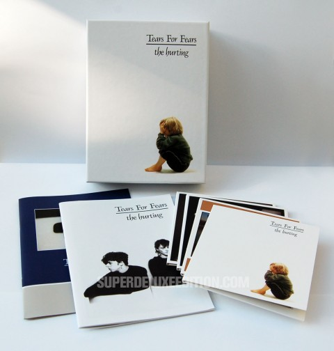 """FIRST PICTURES: Tears For Fears / """"The Hurting"""" 4-disc box set"""
