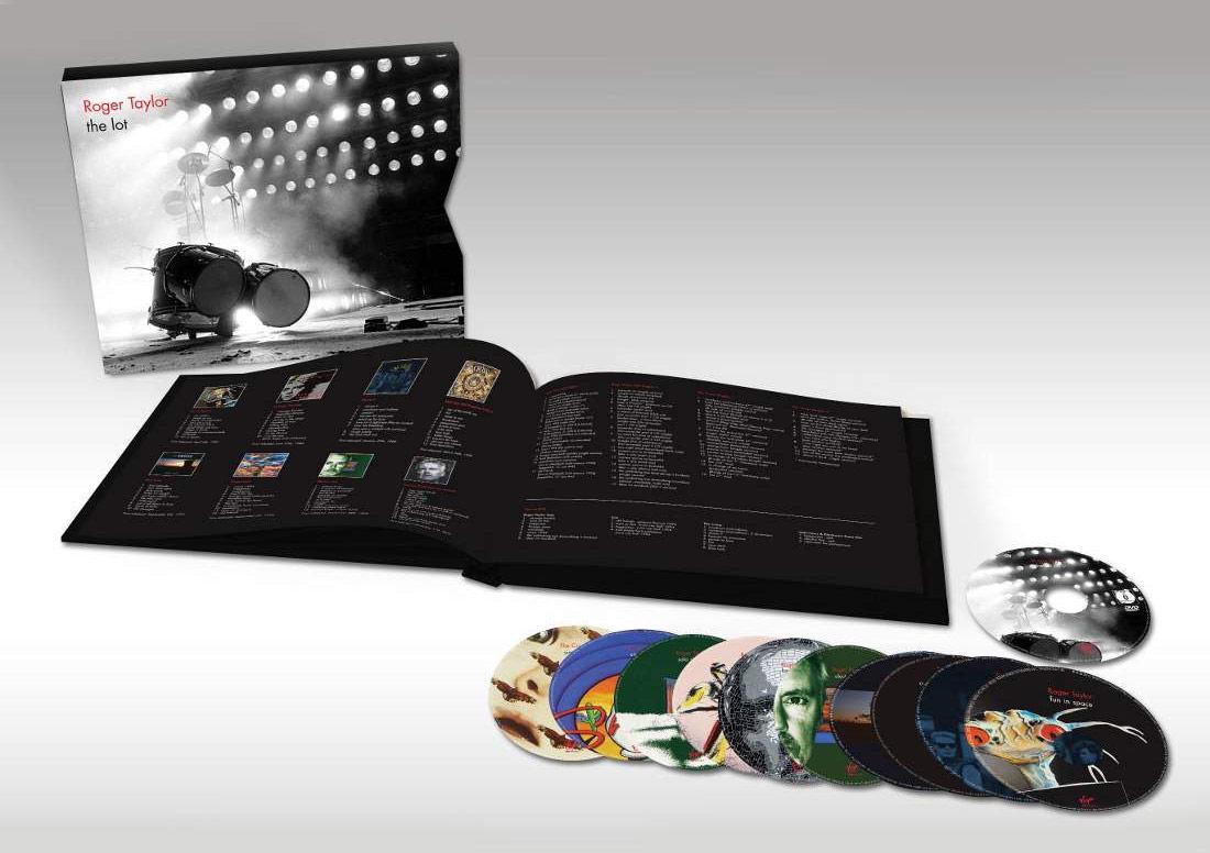 "Roger Taylor ""The Lot"" career-spanning 13-disc box set"