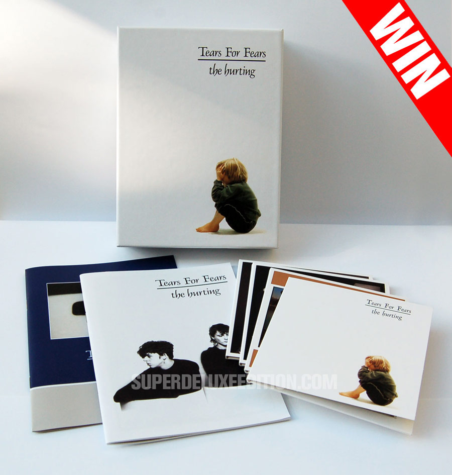 "WIN a Tears For Fears ""The Hurting"" box set and a 7-inch test pressing"