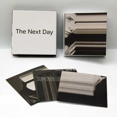 FIRST PICTURES: David Bowie / The Next Day Extra / limited box set