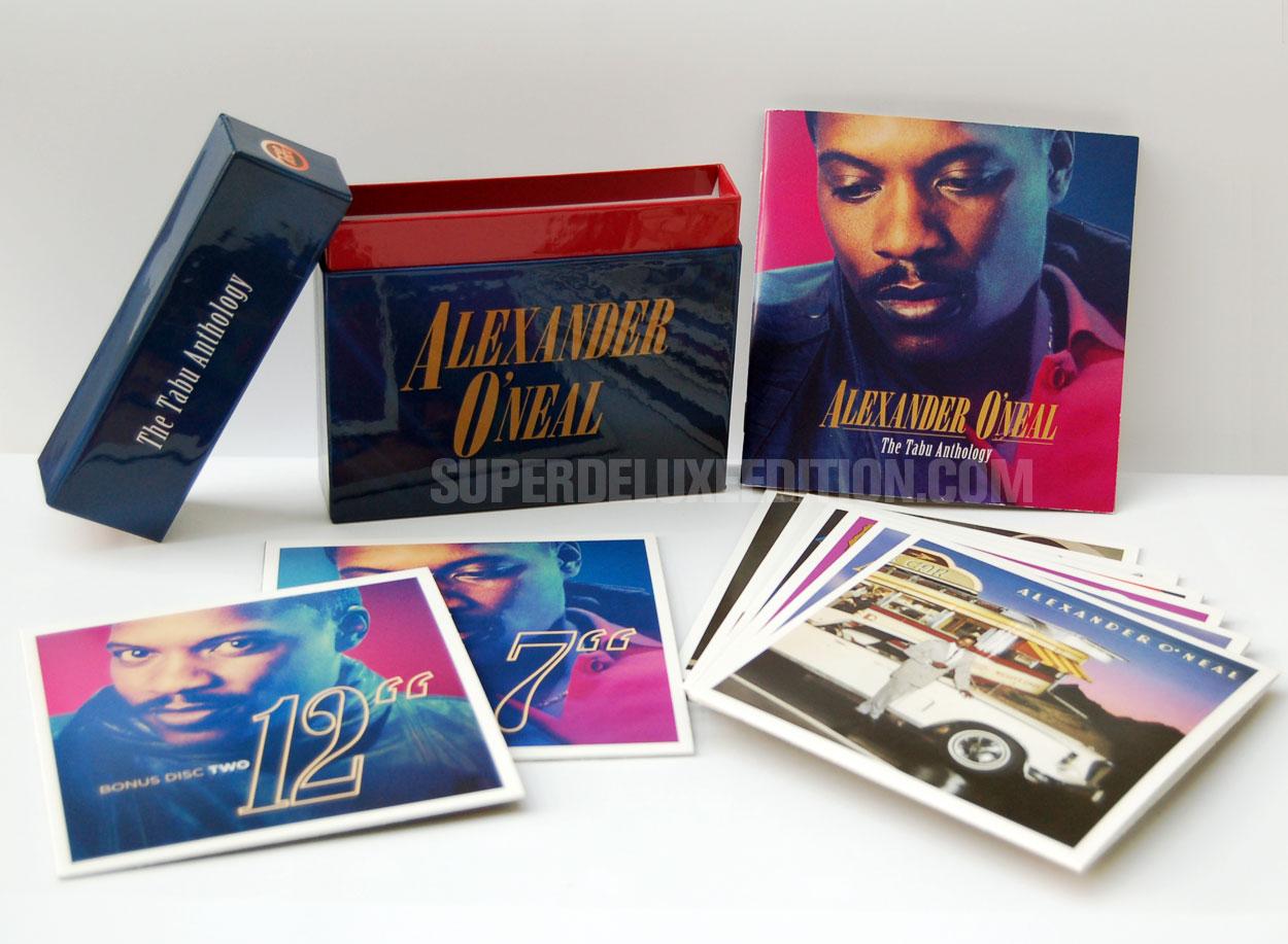 "Quick Look / Alexander O'Neal: ""Tabu Anthology"" 8CD box set"