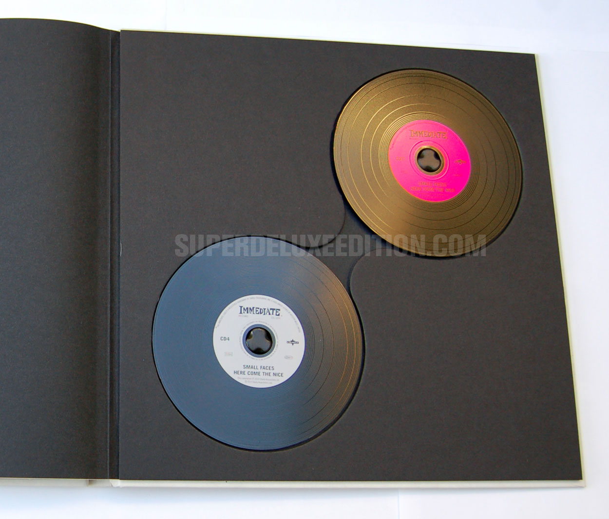 """FIRST PICTURES: Small Faces / """"Here Come The Nice"""" Immediate Years box"""