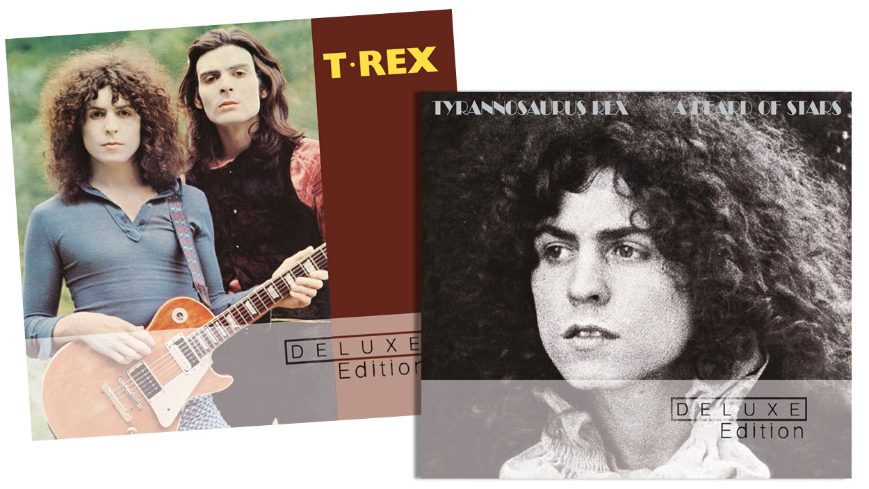 "Marc Bolan and T Rex / ""T Rex"" and ""A Beard Of Stars"" deluxe editions"