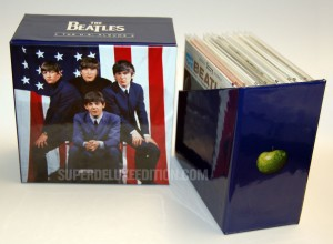 WORLD EXCLUSIVE: First Pictures / The Beatles U.S. Albums box