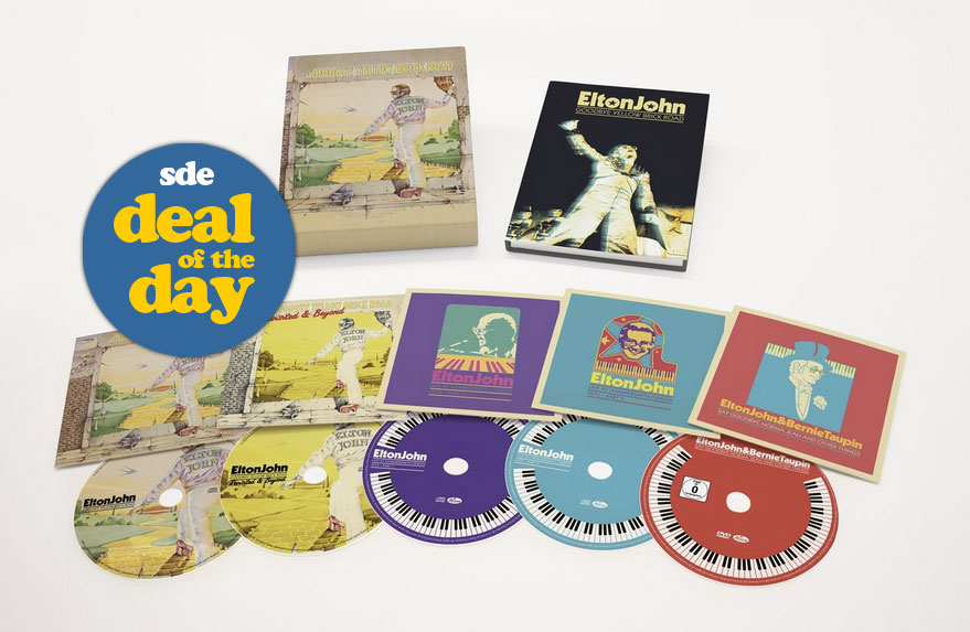 DEAL OF THE DAY: Elton John / Goodbye Yellow Brick Road super deluxe