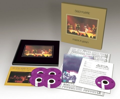 """Deep Purple / """"Made In Japan"""" reissue: boxes & formats explained"""