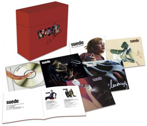 Suede / CD Singles box and Seven-inch vinyl box set