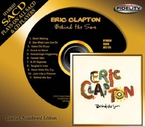 Eric Clapton / Behind the Sun SACD