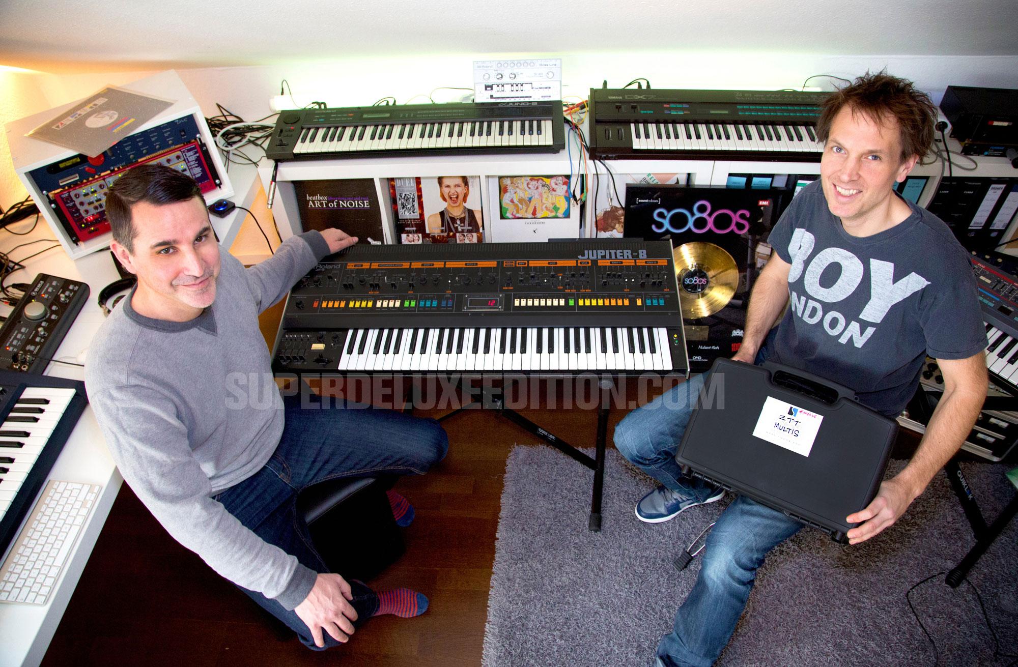 Blank & Jones working on ZTT so80s compilation