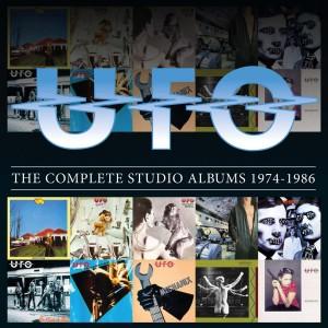 UFO / The Complete Studio Albums 1974-1986 / 10CD box set