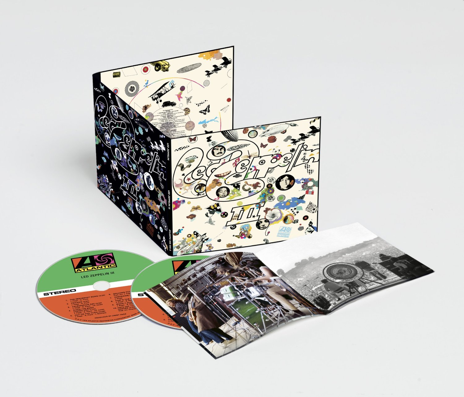 Led Zeppelin 2014 reissues / Led Zeppelin III 2CD deluxe remaster