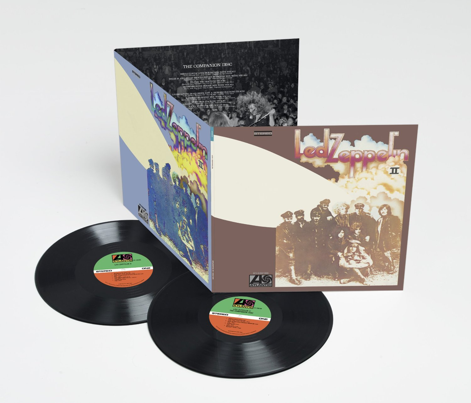 Led Zeppelin 2014 reissues / Led Zeppelin II 2LP deluxe vinyl
