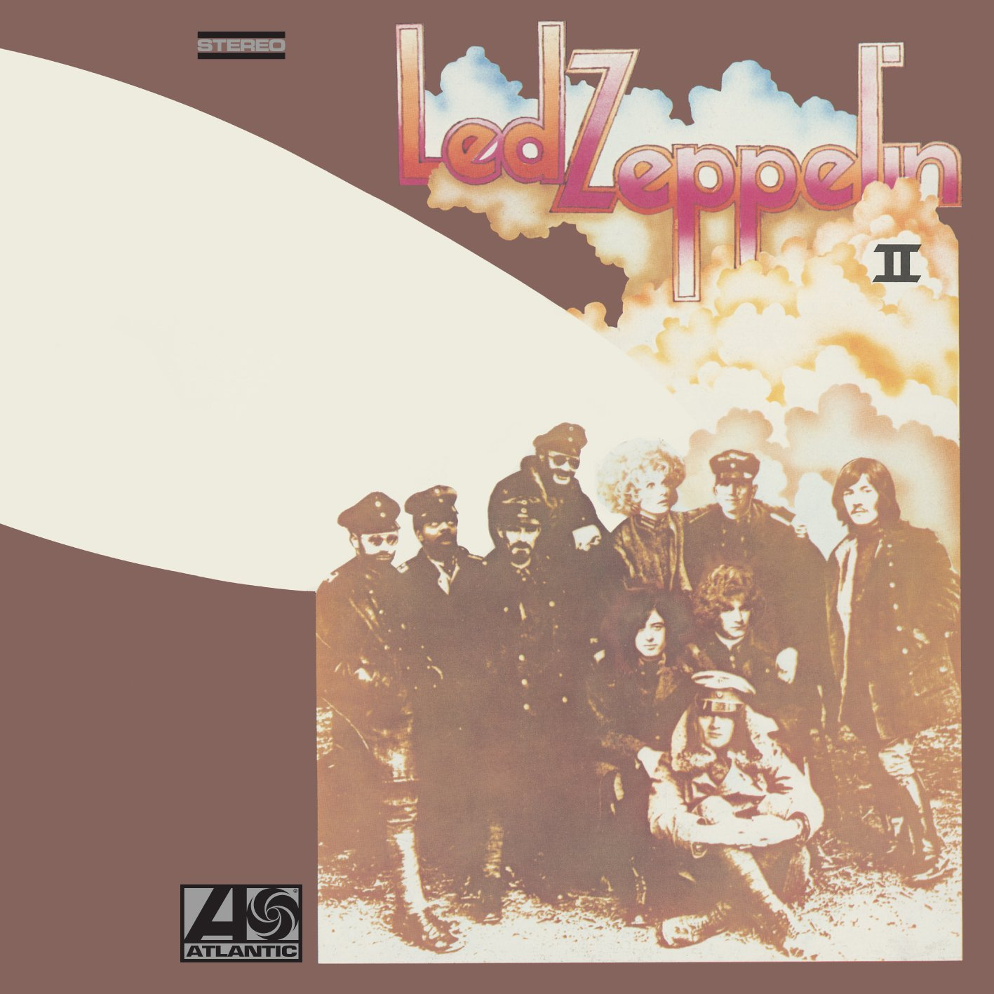 Led Zeppelin 2014 reissues / Led Zeppelin II standard vinyl
