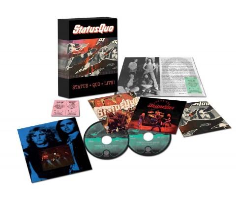 Status Quo / Live! 4CD box set