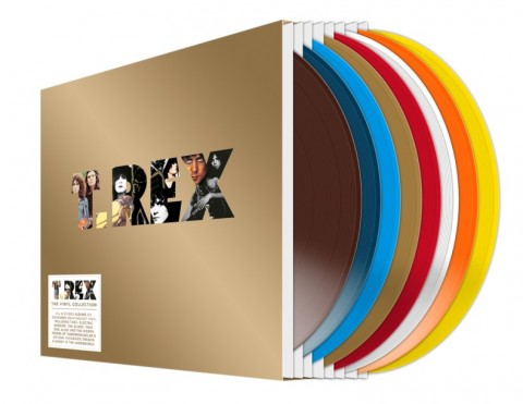 T. Rex / The Vinyl Collection coloured vinyl edition