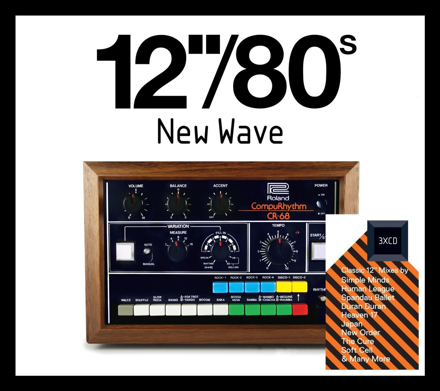"""12""""/80s New Wave"""