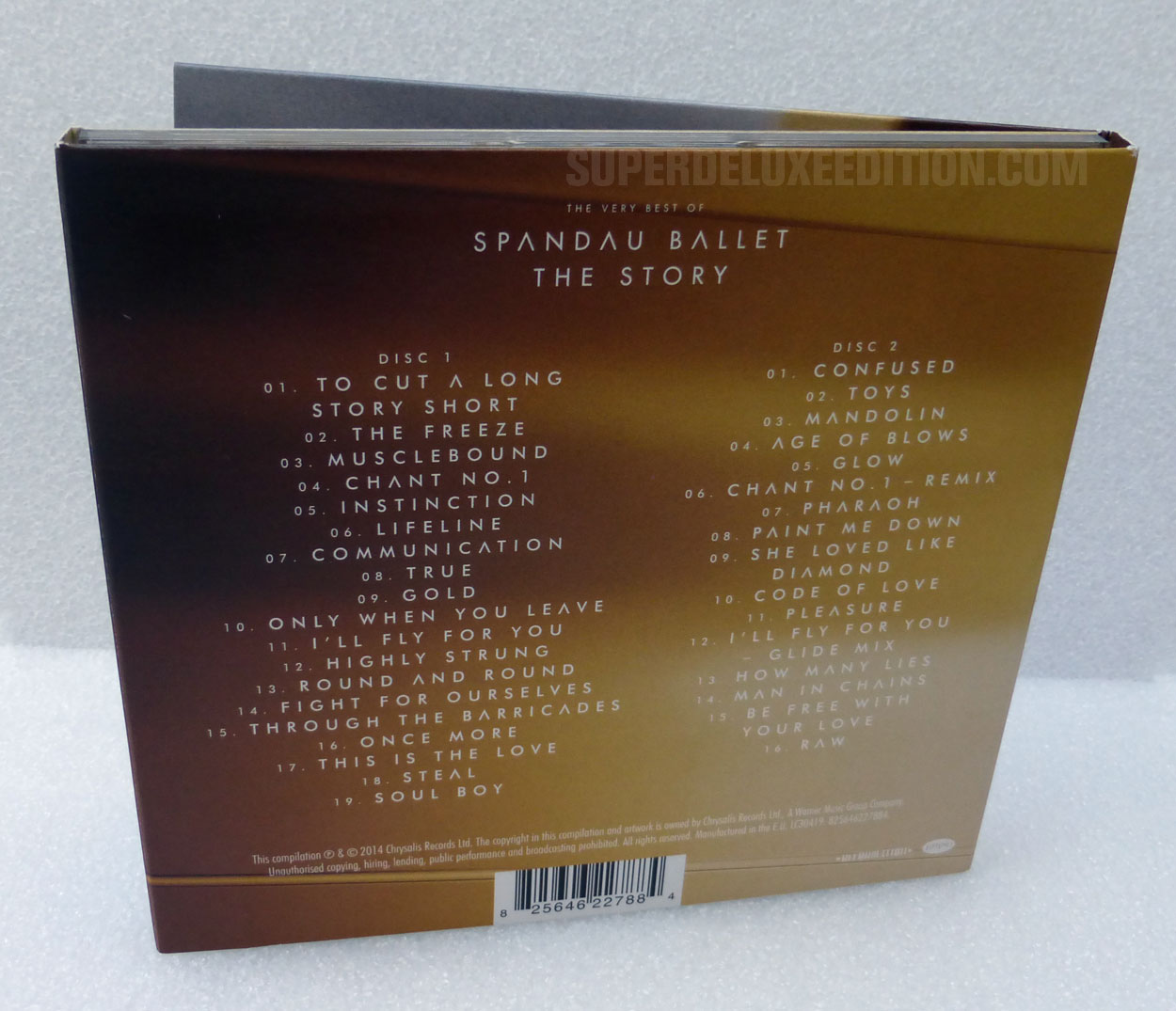 Review: The Best of Spandau Ballet: The Story / 2CD deluxe