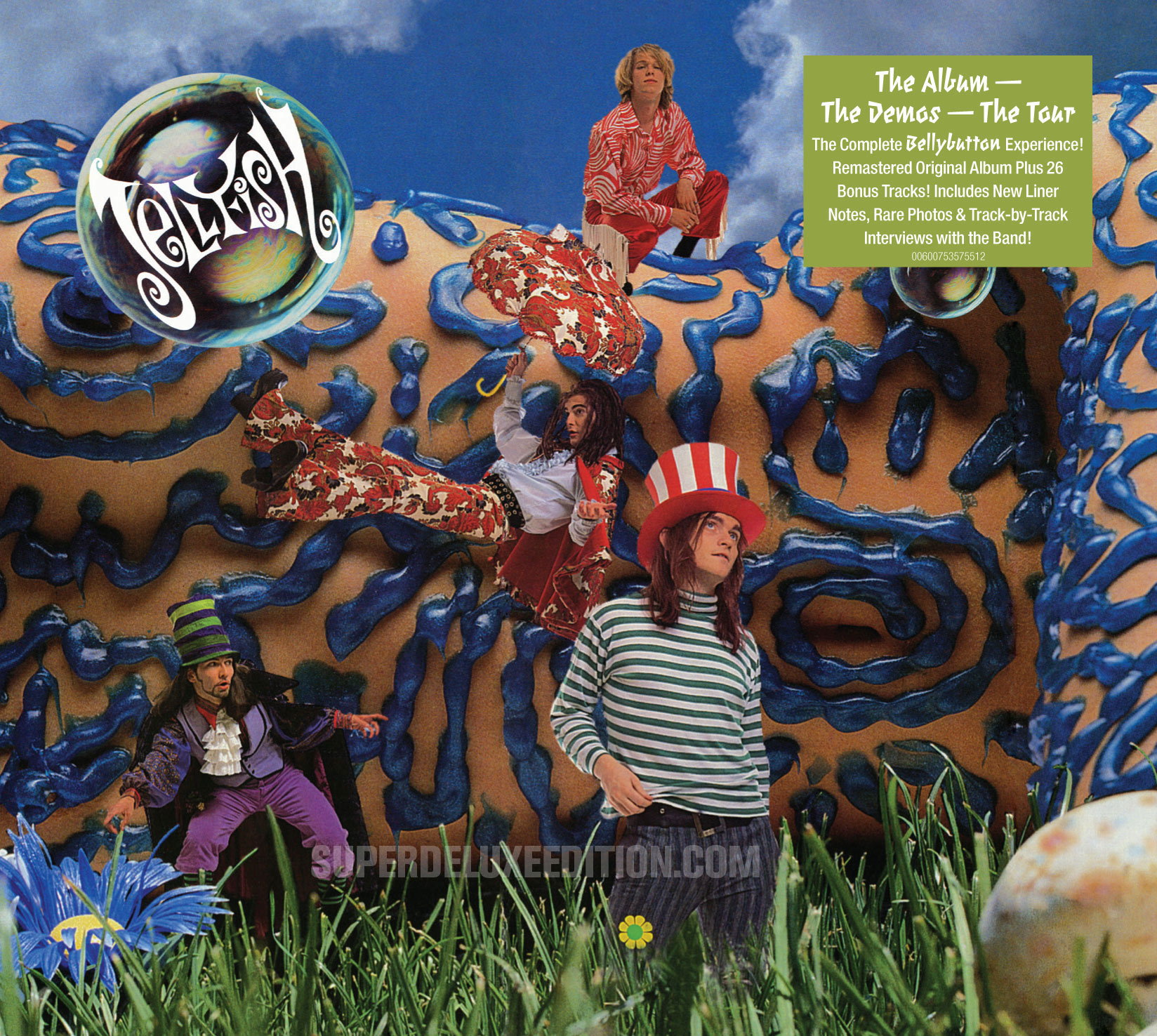 Jellyfish: Bellybutton and Spilt Milk 2CD deluxe reissues confirmed