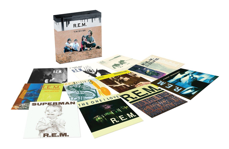 R.E.M / 7in-83-88 vinyl box set