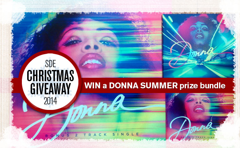 Day 5: SDE Christmas Giveaway / Win a Donna Summer prize bundle