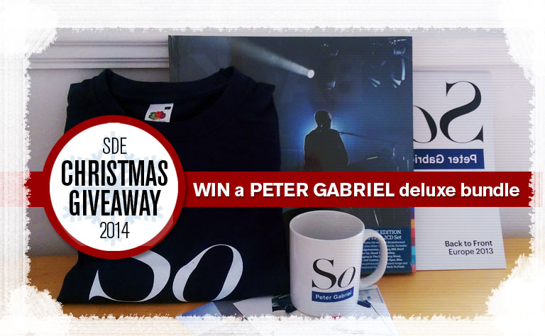 Day 4: SDE Christmas Giveaway / Win a Peter Gabriel deluxe bundle