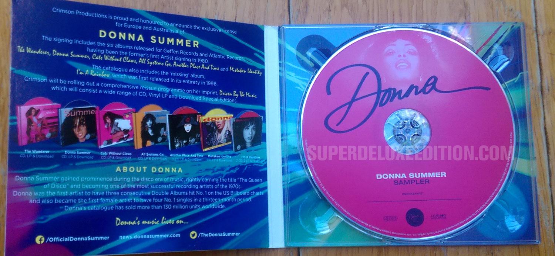 Donna Summer promo sampler CD